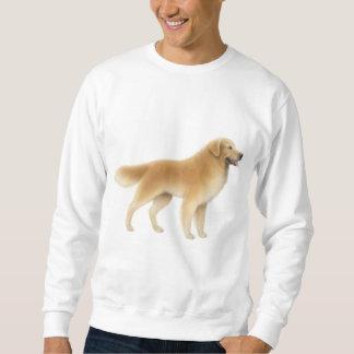 Camiseta del golden retriever sudaderas encapuchadas