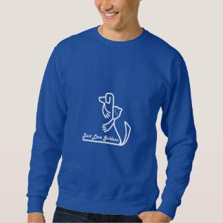 Camiseta del golden retriever suéter