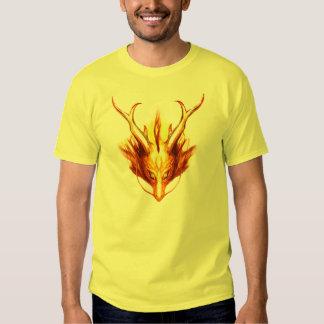 Camiseta del gráfico de la quimera poleras