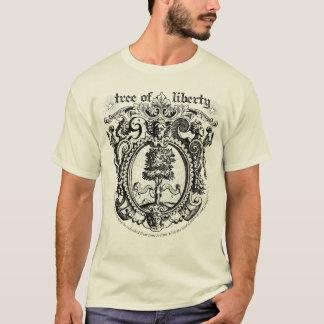 Camiseta del gráfico del árbol de la libertad