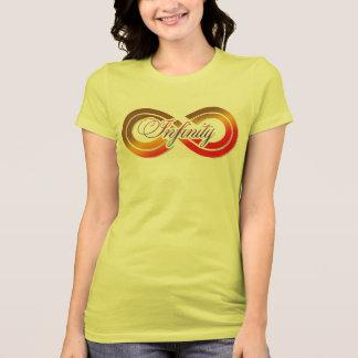 Camiseta del gráfico del símbolo del infinito