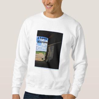 camiseta del granero de caballo