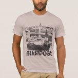 Camiseta del Grunge de Budapest