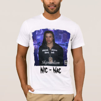 Camiseta del Grunge del Nac Skandolism del NIC