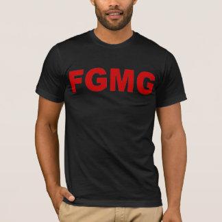 Camiseta del grupo de la música de la Cara-G de