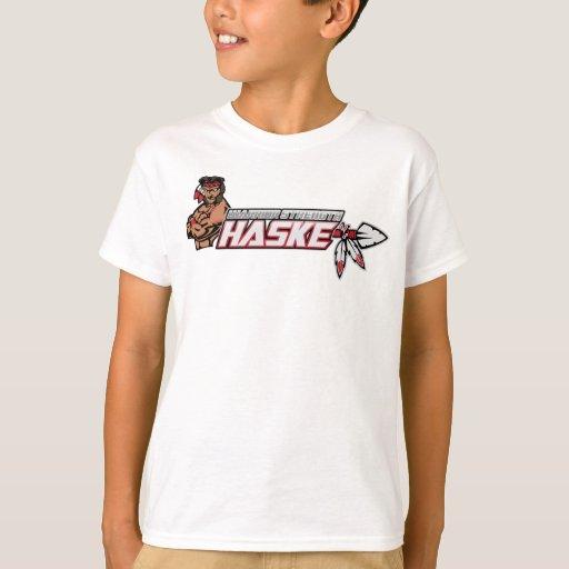 Camiseta del guerrero de Navajo de los niños Playera