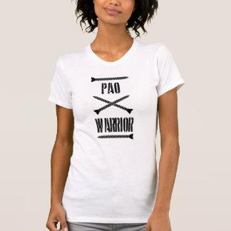 Camiseta del guerrero de PAO Polera