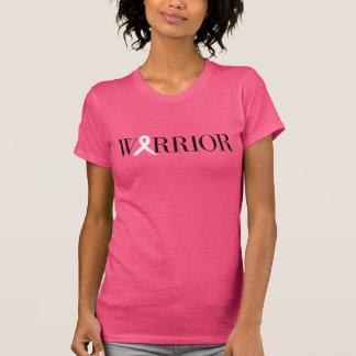 Camiseta del guerrero del cáncer de pecho playera