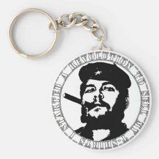 Camiseta del guevara de Che Llavero Redondo Tipo Pin