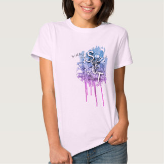 Camiseta del guisante de olor de la LLAVE Playera
