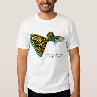 Camiseta del Guppy de Snakeskin de la cobra Remera