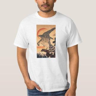 Camiseta del halcón de Kuniyoshi