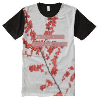 camiseta del hashtag del #KissMeQuick del