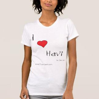 Camiseta del havi del corazón I