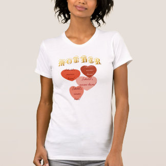 Camiseta del Hearts-4 de la MADRE