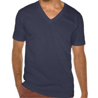 Camiseta del helado de los azules claros del hielo