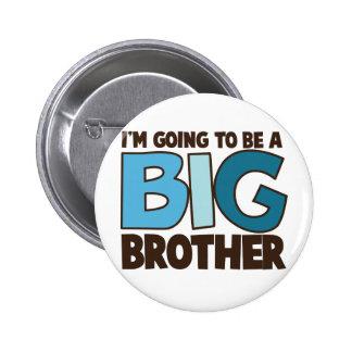 camiseta del hermano mayor pin redondo de 2 pulgadas