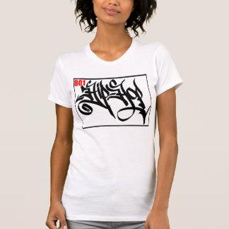 Camiseta del HIP-HOP del CHASIS 801 de DJ de la Remera