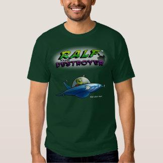 Camiseta del Híper-explorador de los hombres Playeras