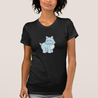 Camiseta del hipopótamo playera