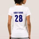 Camiseta del hockey de los E.E.U.U. con la impresi