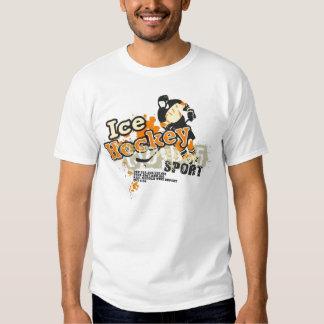 camiseta del hockey sobre hielo camisas