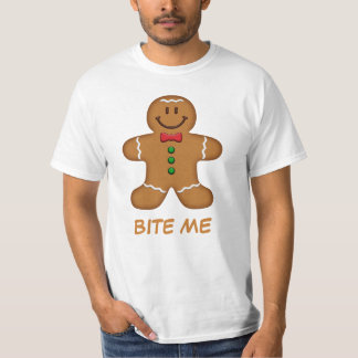 Camiseta del hombre de pan de jengibre [de su