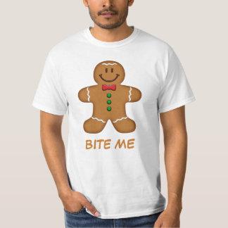 Camiseta del hombre de pan de jengibre [de su remera