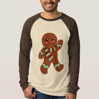 Camiseta del hombre de pan de jengibre playera