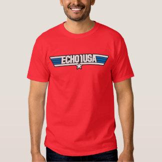 Camiseta del hombre del hielo de Echo1USA Poleras
