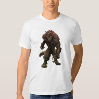 Camiseta del hombre lobo remeras