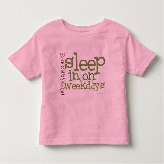 Camiseta del homeschool del niño: Sueño adentro