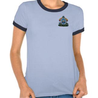 camiseta del honduras_escudo para las mujeres