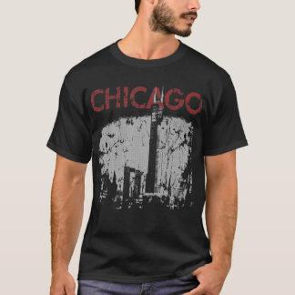 Camiseta del horizonte de Chicago