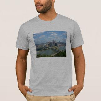 Camiseta del horizonte de Pittsburgh