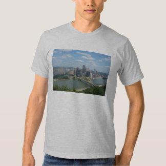 Camiseta del horizonte de Pittsburgh Poleras