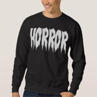 Camiseta del horror pulóver sudadera