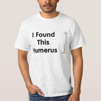 Camiseta del húmero