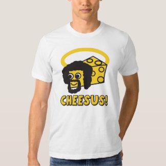 Camiseta del humor de Cheesus Poleras