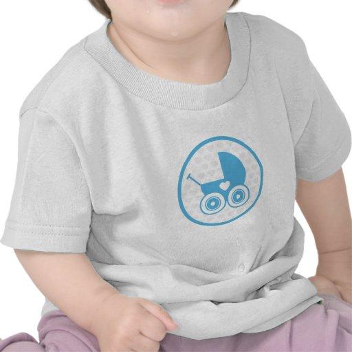 Camiseta del icono del cochecito de niño del bebé