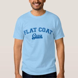 Camiseta del individuo de la capa plana playera