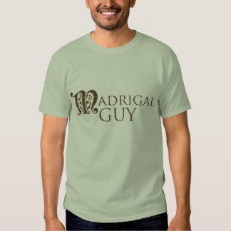 Camiseta del individuo de Madrigal Playera