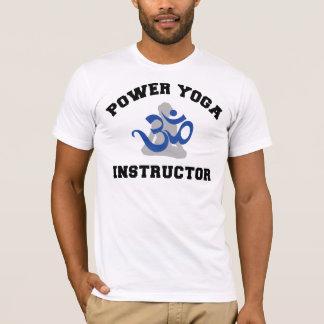 Camiseta del instructor de la yoga del poder