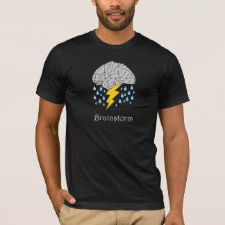 Camiseta del intercambio de ideas