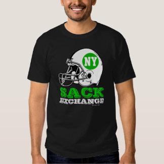 Camiseta del intercambio del saco de NY Playeras