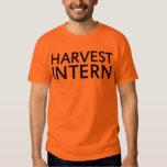 Camiseta del interno de la cosecha poleras