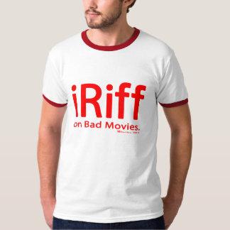 camiseta del iRiff (en malas películas) Playeras