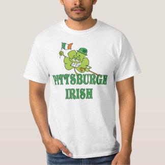 Camiseta del irlandés de Pittsburgh Poleras