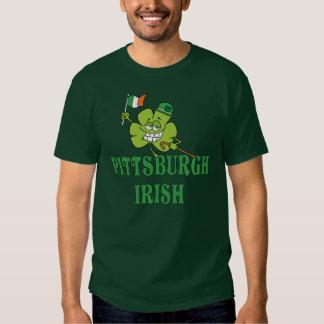 Camiseta del irlandés de Pittsburgh Remeras