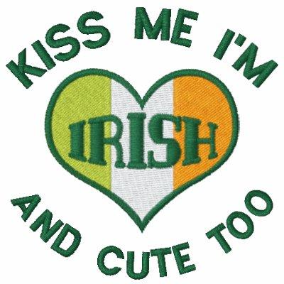 Camiseta del irlandés del verde del día de St